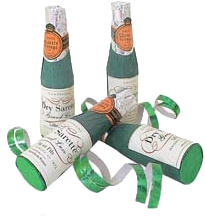 champagne poppers